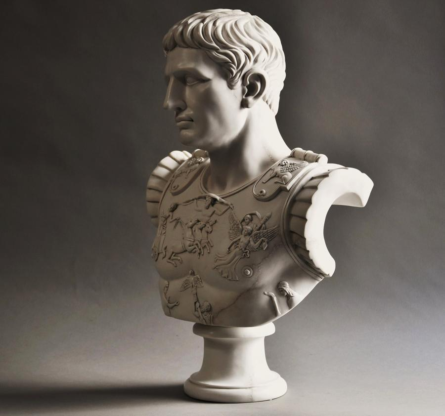 CLASSICAL MARBLE FIGURES