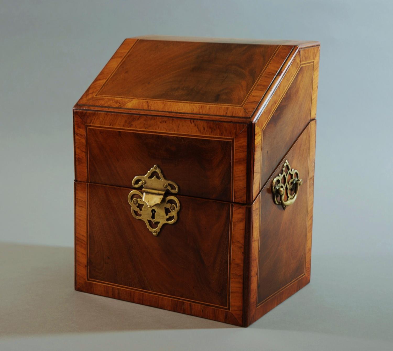 Mahogany stationary box in the Georgian style