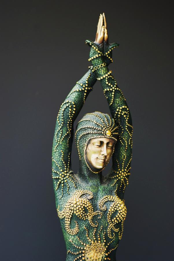 Bronze figure of 'Starfish Dancer'
