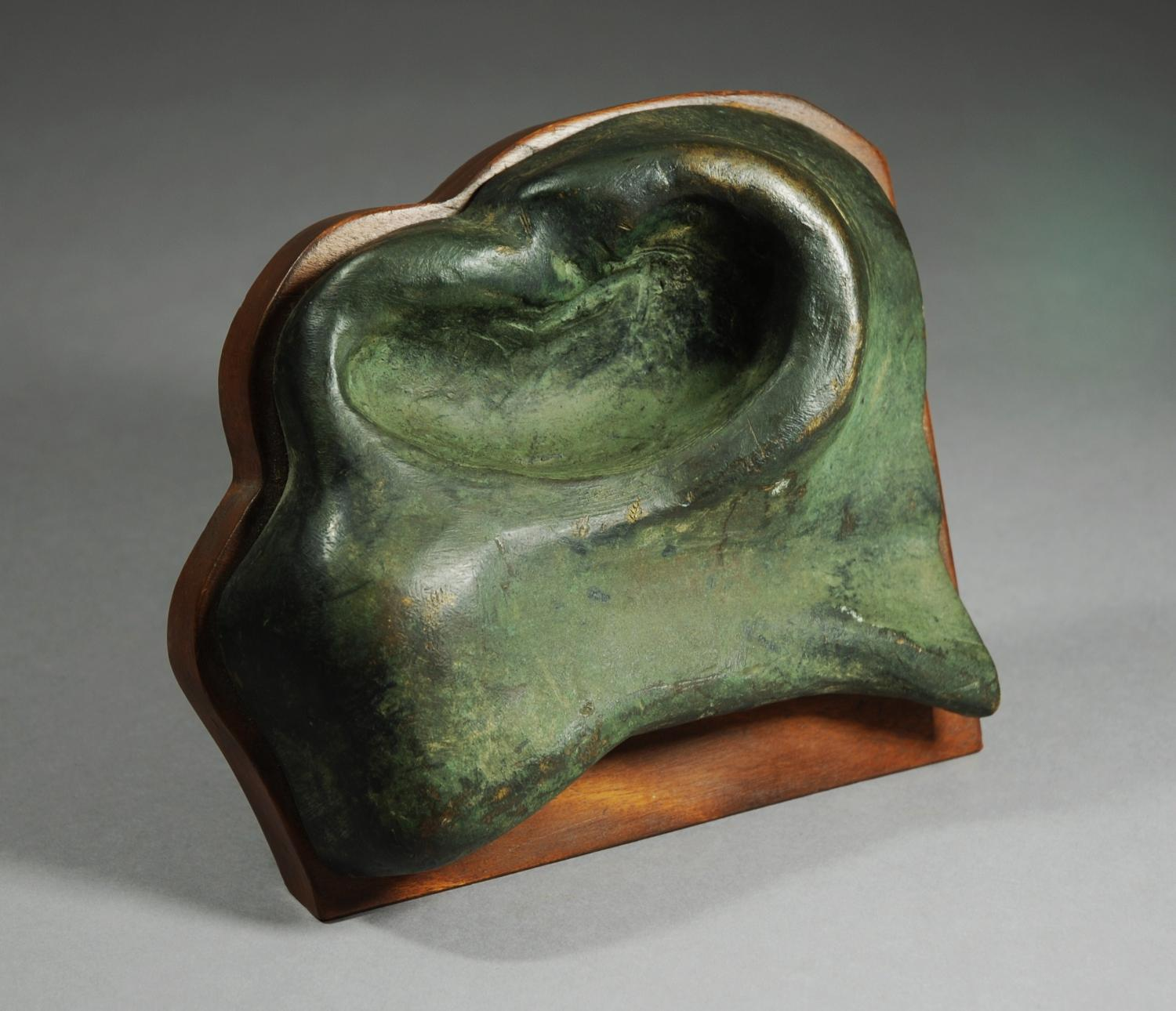 Nostril from a bronze statue of a horse