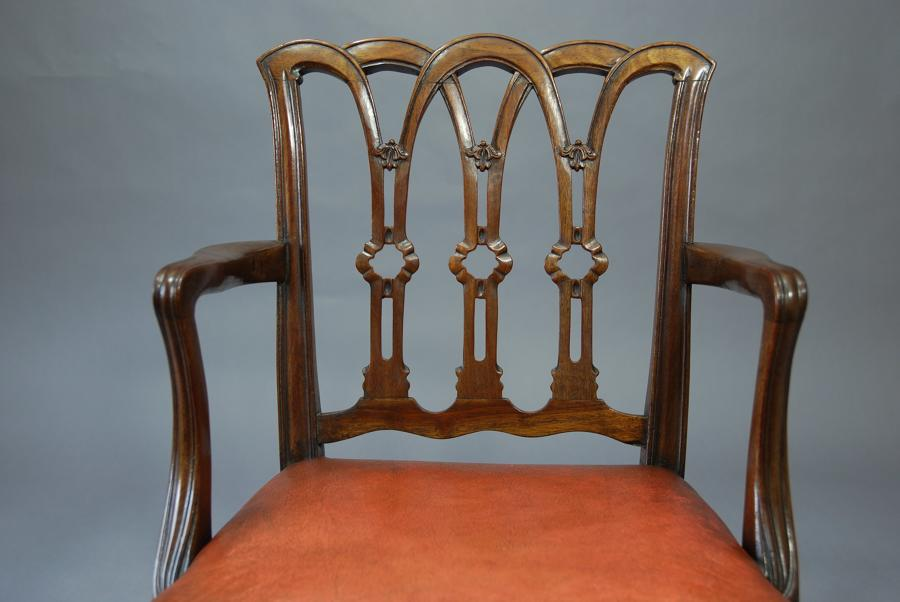 19th century mahogany childs chair