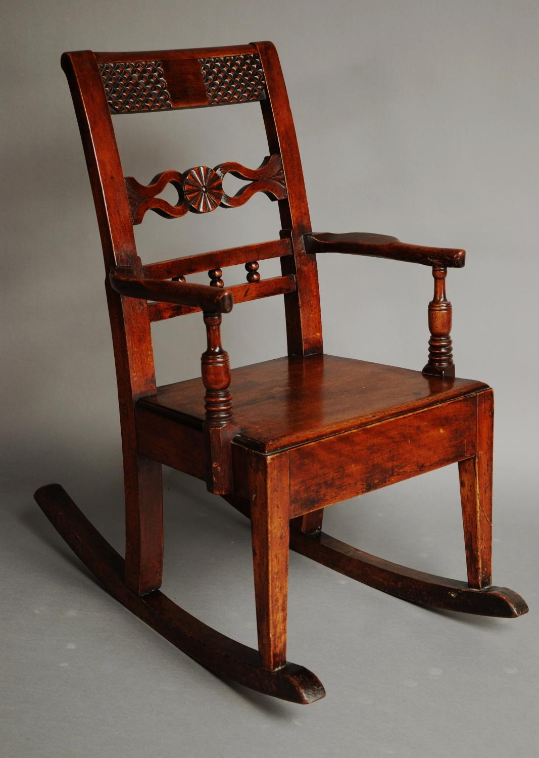 East Anglian Child's rocking chair