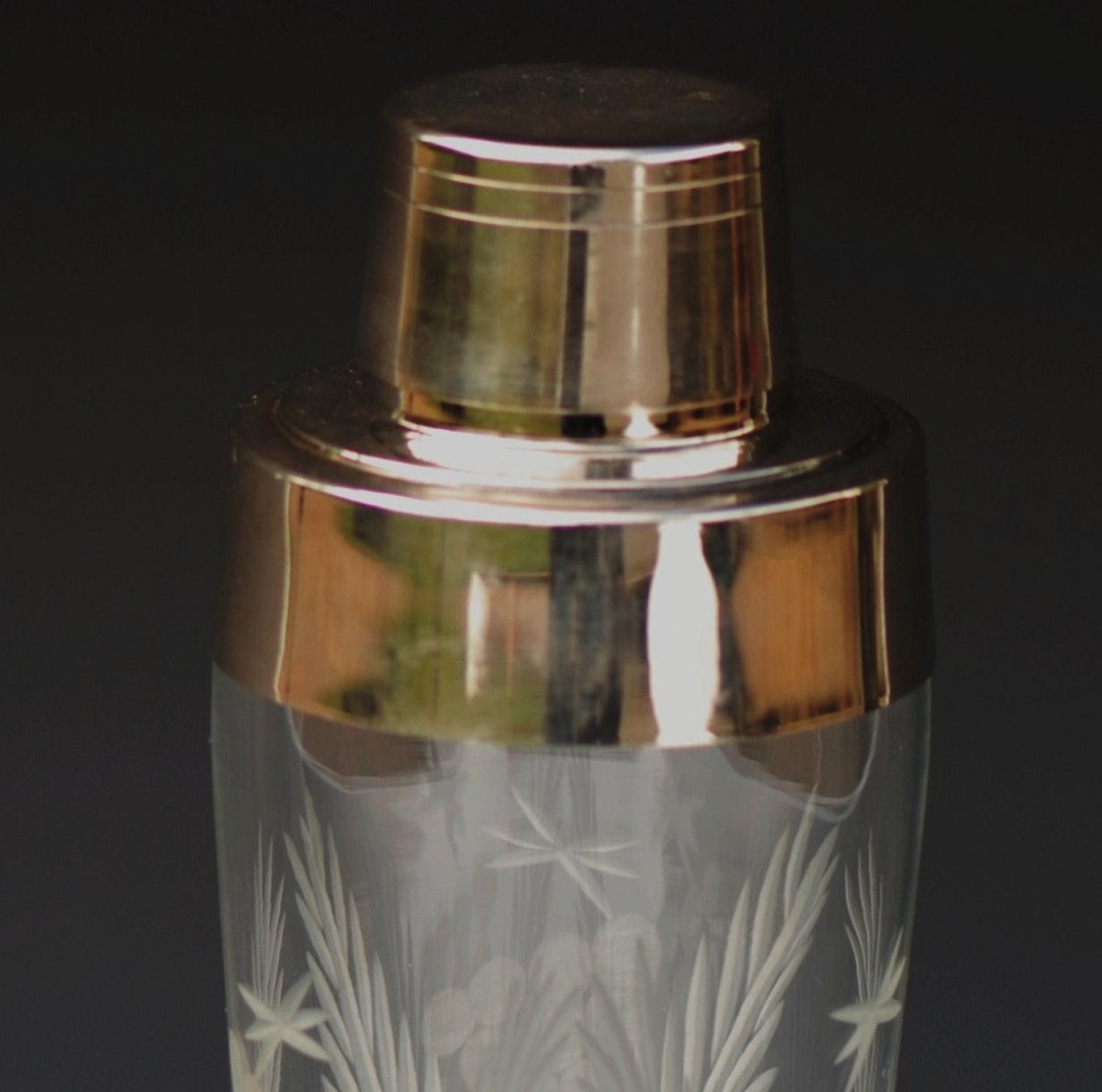 1930's cocktail shaker