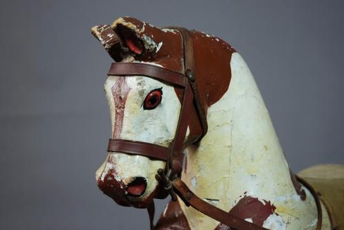 Small Edwardian Antique rocking horse