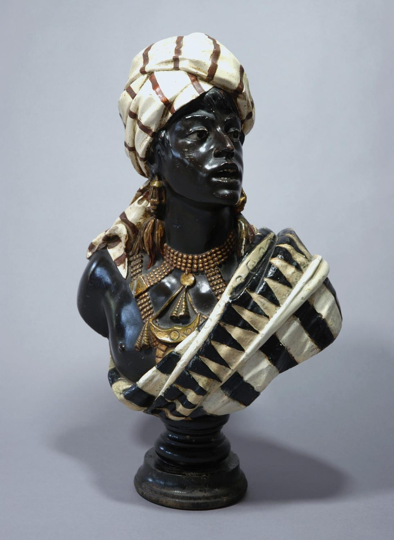Nubian plaster bust
