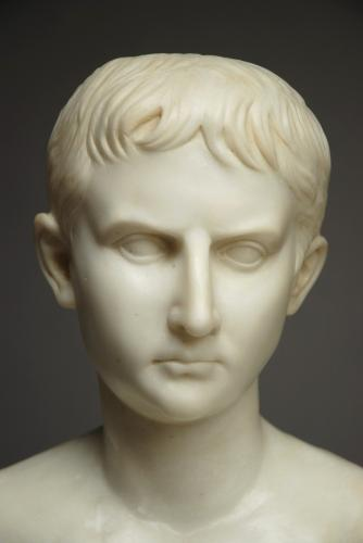 Mid 19thc Italian Grand Tour bust