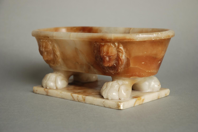 Mid 19thc Italian Grand Tour alabaster small
