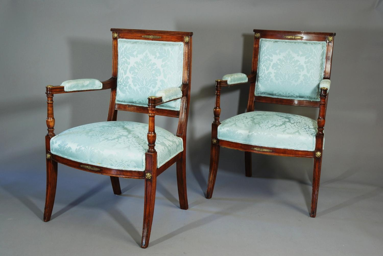 Three piece suite in the French salon style in SOLD ARCHIVE