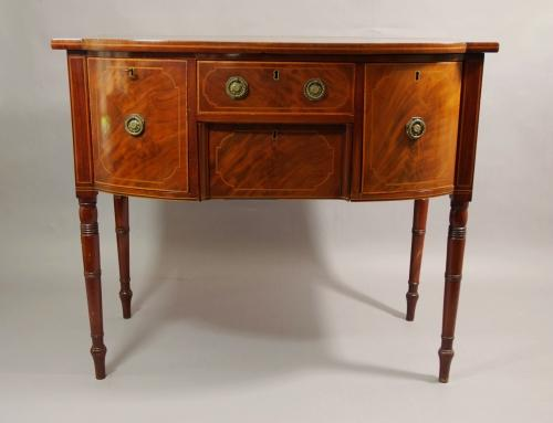 19thc mahogany sideboard of small proportions