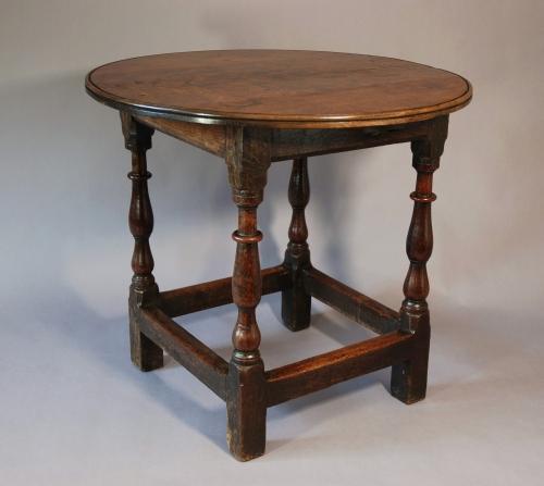 Late 17thc Oak tavern table