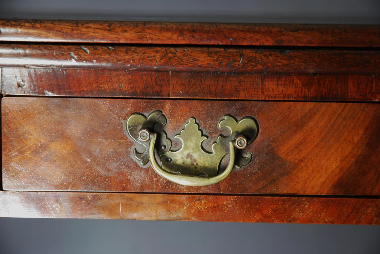 18th century mahogany card table