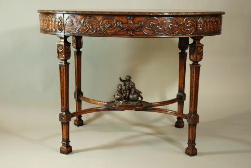 Early 20thc mahogany centre table