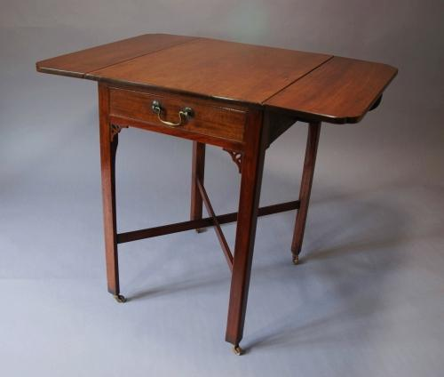 18thc mahogany pembroke table