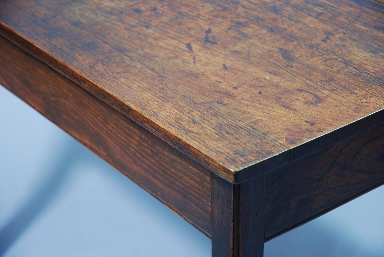 Elm drop leaf table