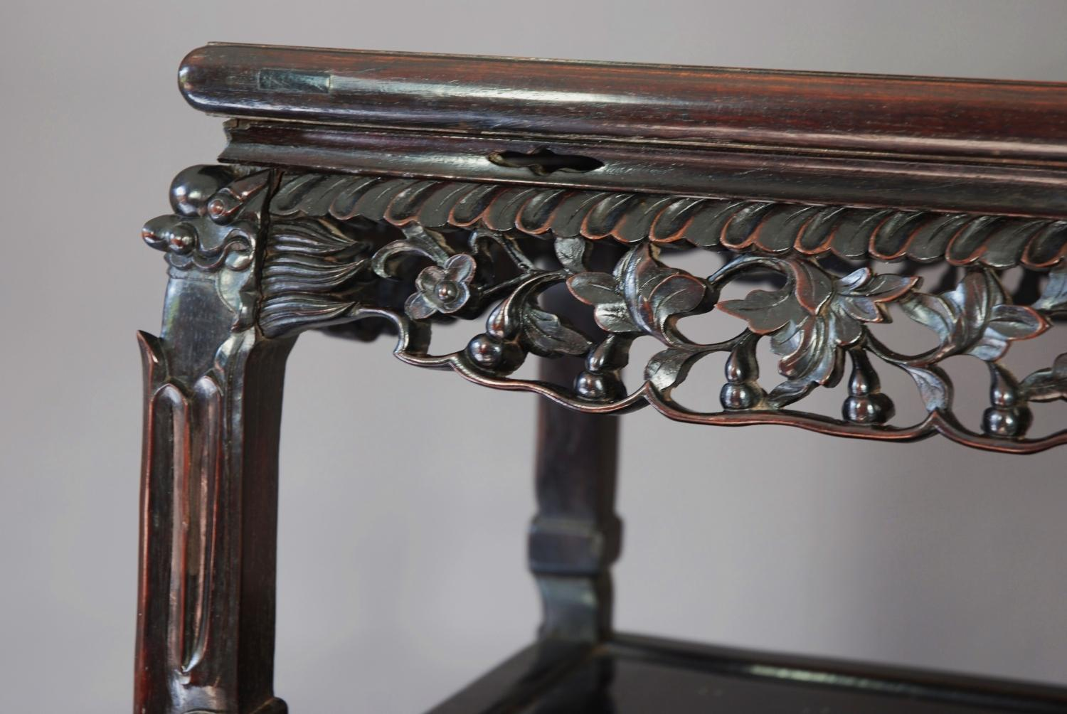Late 19thc Chinese table