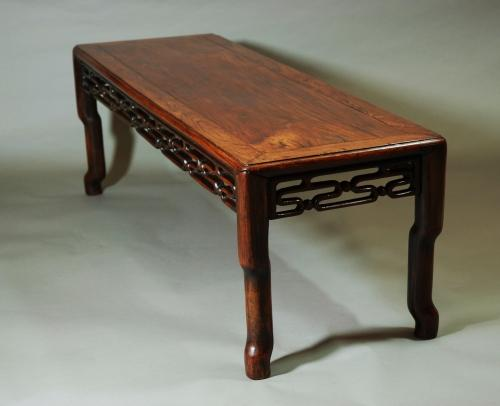 Chinese padouk low table