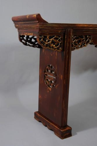 Chinese elm altar table