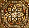Syrian octagonal inlaid occasional table - picture 2