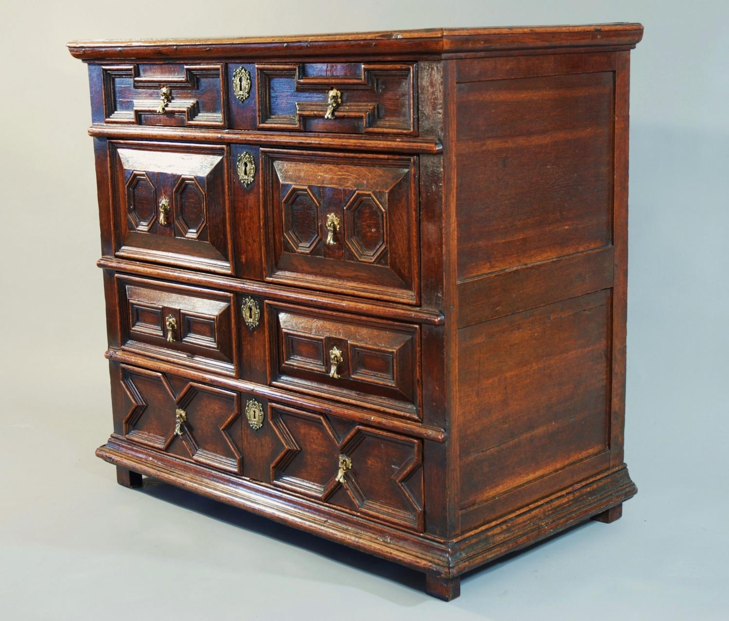 Chest Of Drawers Ikea Dubai ~ 17th century oak moulded chest of drawers 11699 pic6 size3 jpg