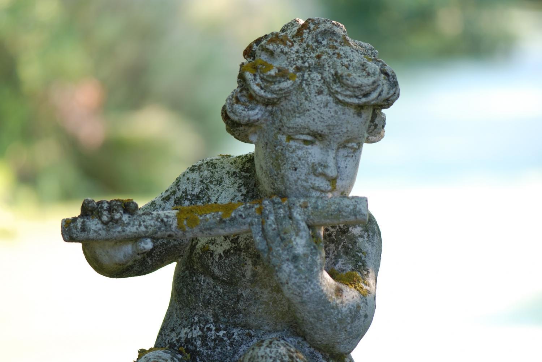 Sculpture of a putti