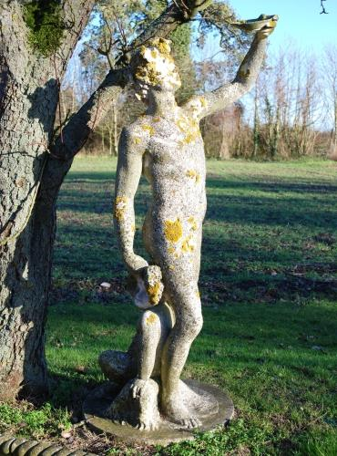 Sculpture of Bacchus
