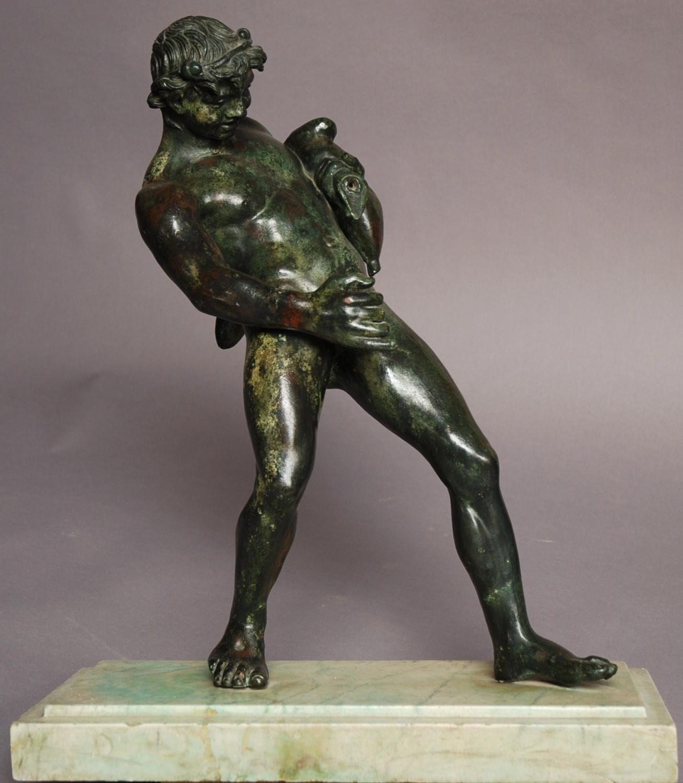 Grand Tour style bronze of Bacchus
