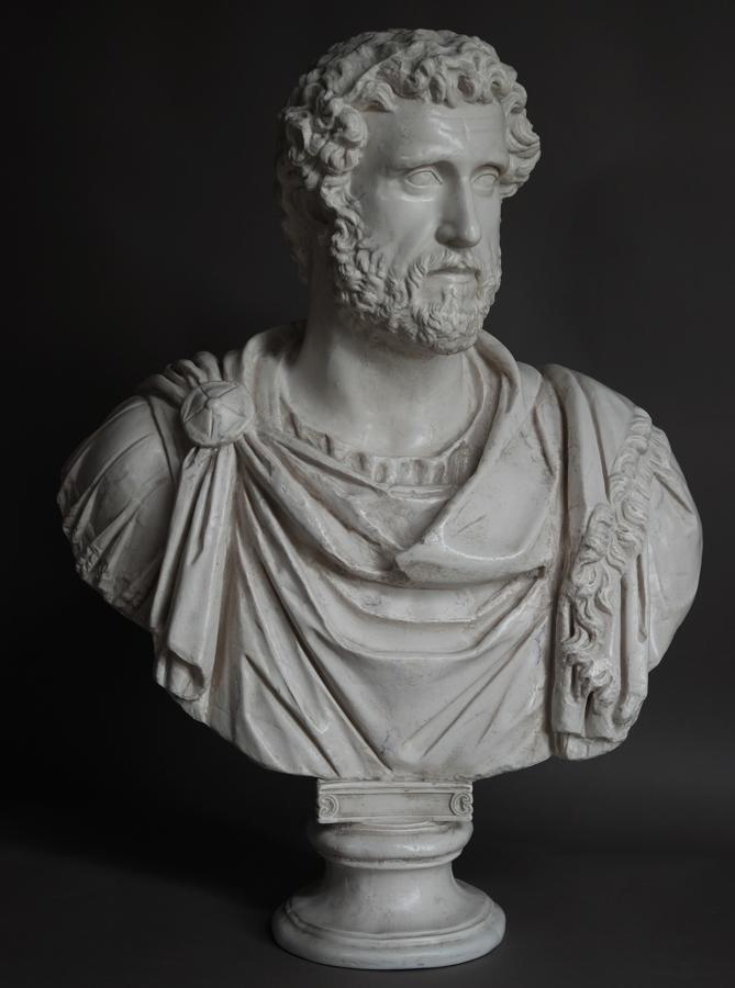 Figure Of Emperor Hadrian