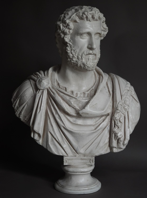 Figure Of Emperor Hadrian