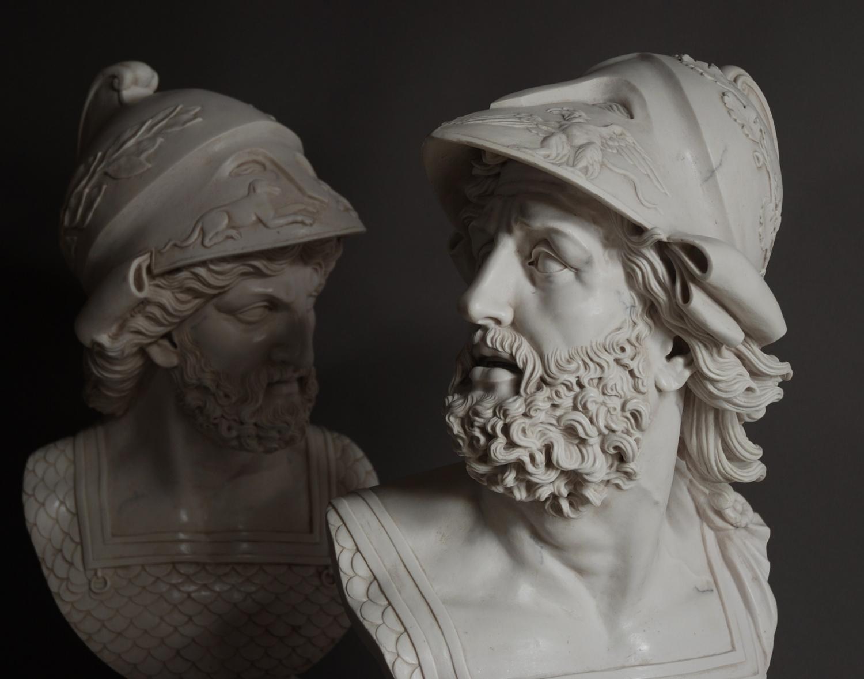 Pair Of Ajax Figures