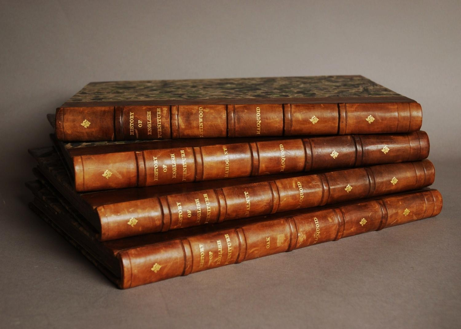 Full set of 'A History of English Furniture'