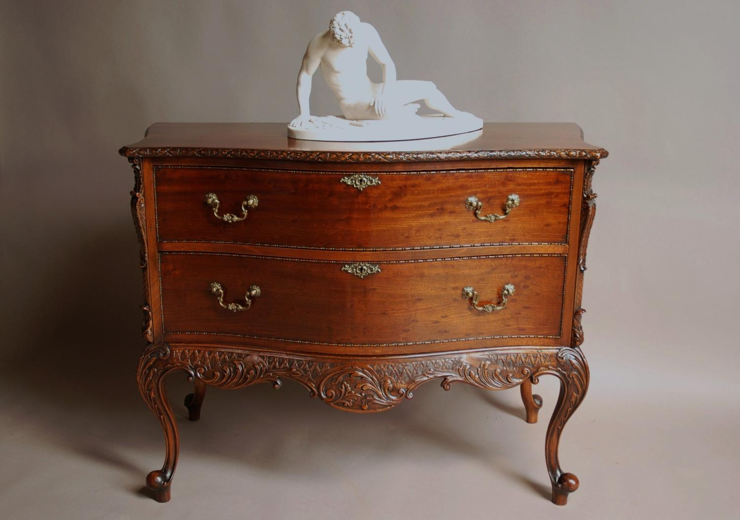 Chippendale style commode