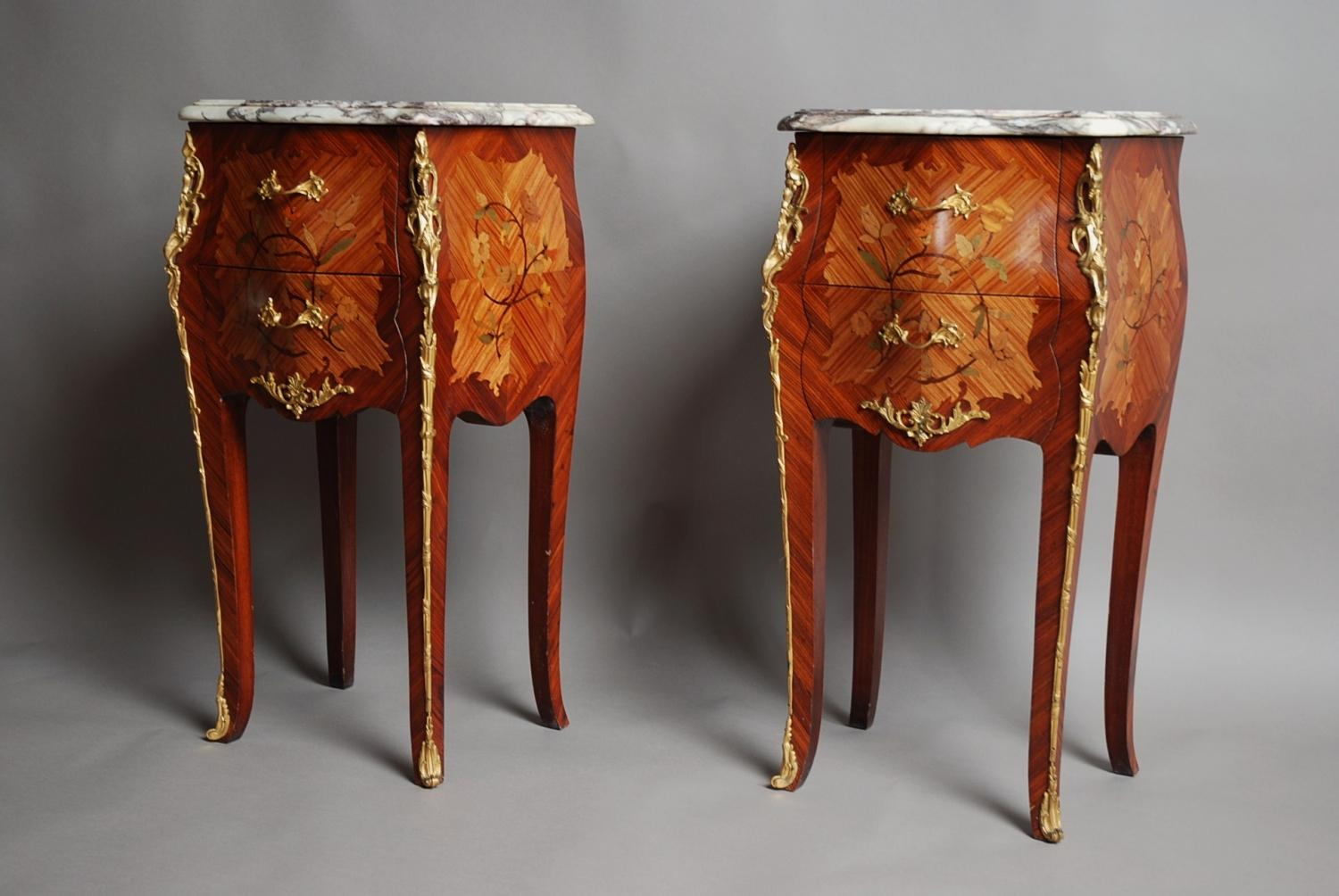 Pair of Kingwood bedside commodes