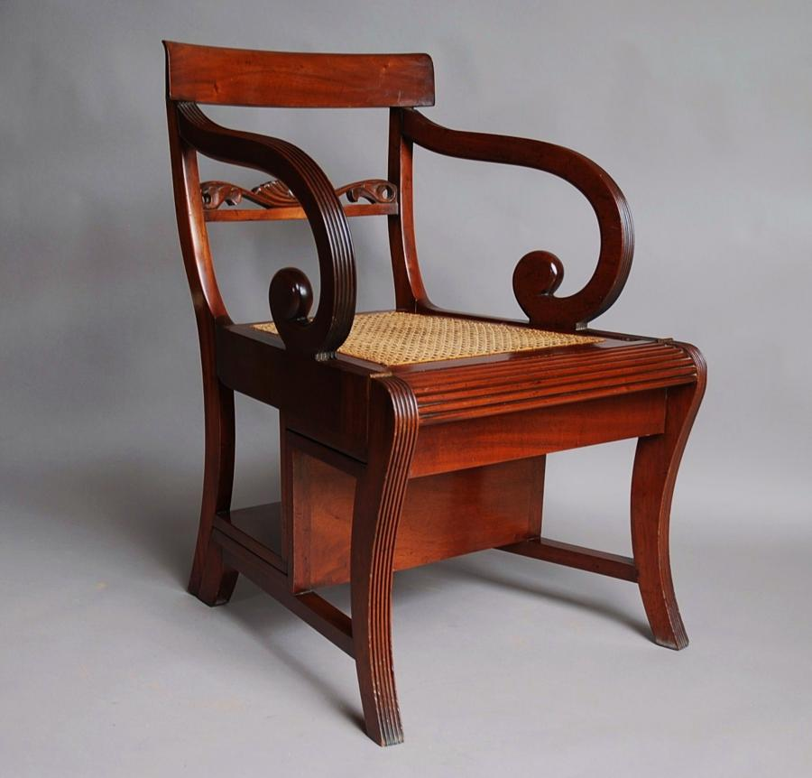 Regency style Metamorphic chair