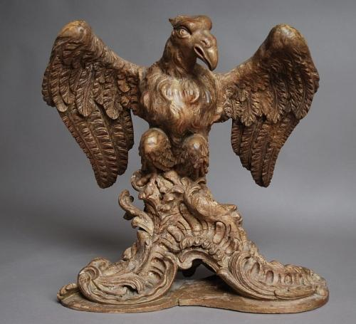 Late 17th century pine eagle lecturn