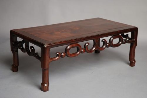 Early 20th century padouk Chinese low table