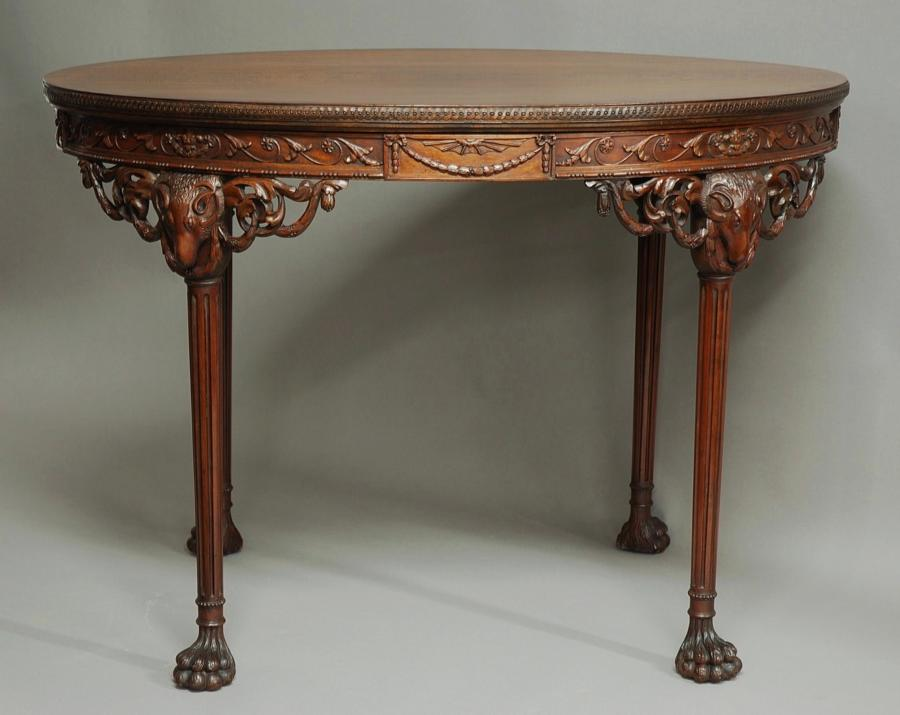 Mahogany  table in the manner of Robert Adam