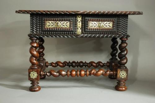 17th century Anglo-Portugese palisander table