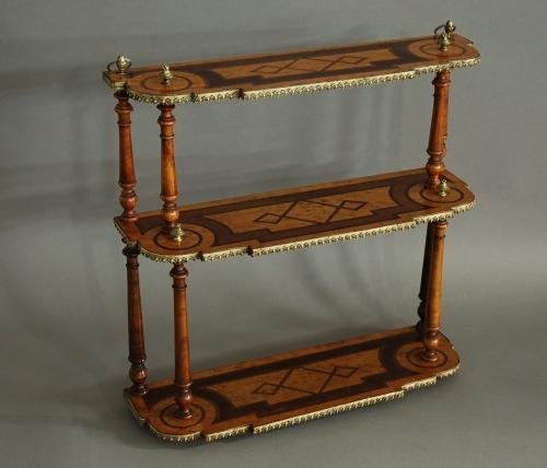 Fine quality miniature hanging shelves