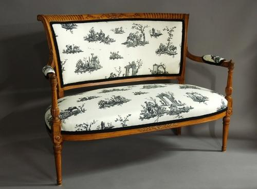 Late 19th century French two seater sofa