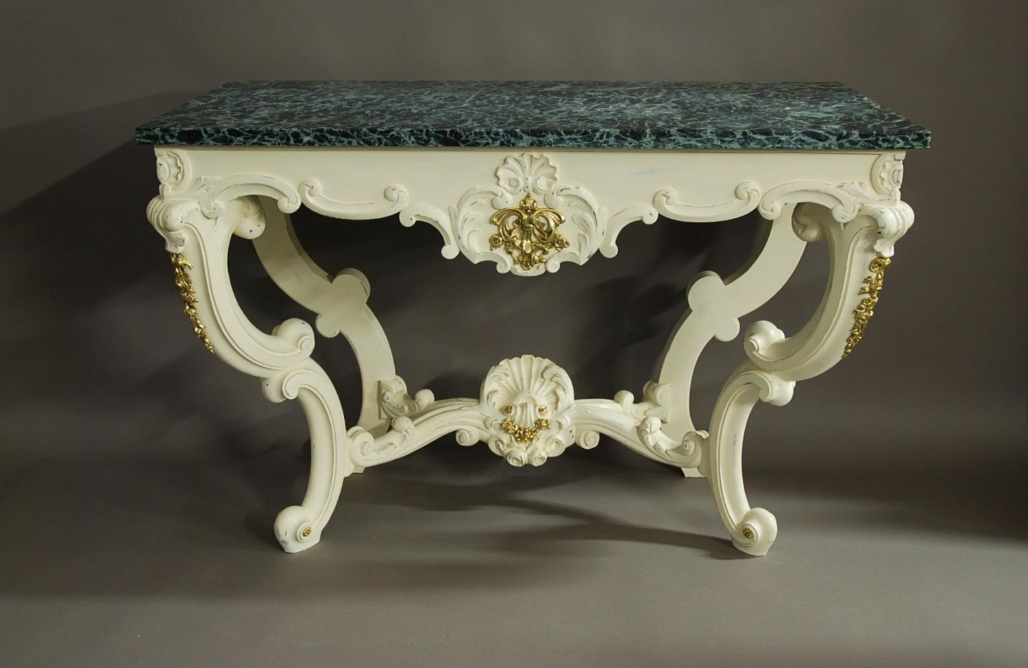 Mid 19th century French console table