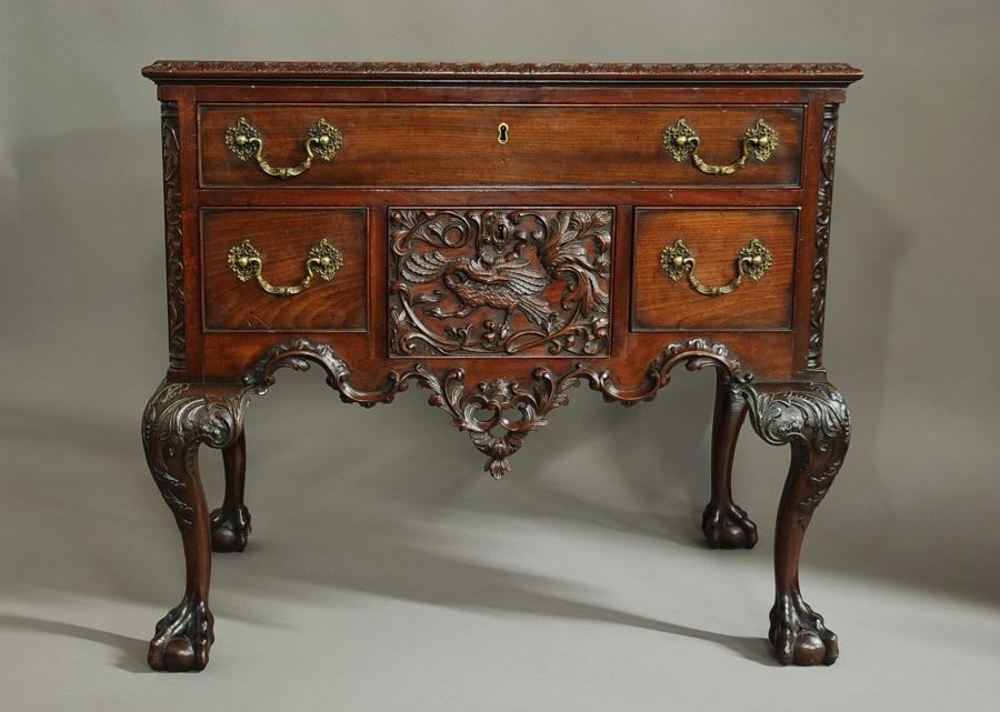 19thc American mahogany dressing table