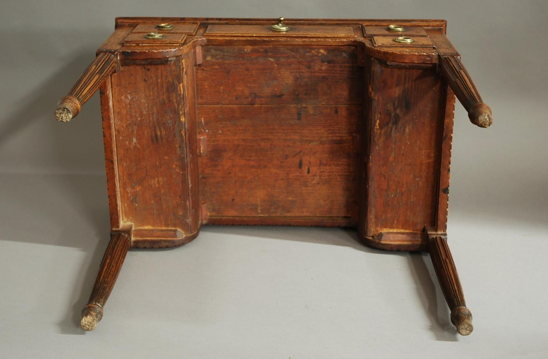 18th century continental walnut desk table in desks for Table vs desk