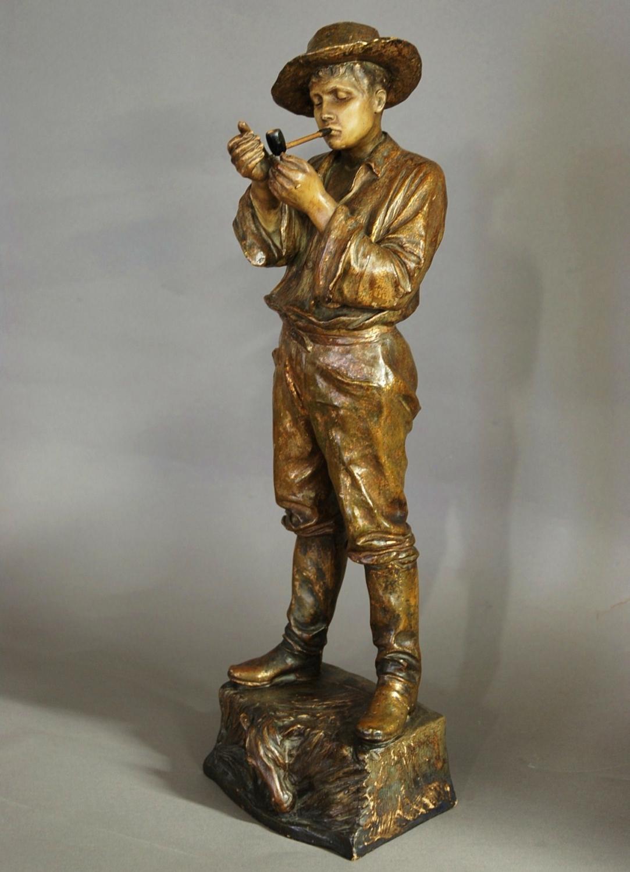 Goldscheider slip cast figure of Gaucho