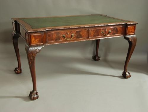 Waring & Gillows mahogany writing table