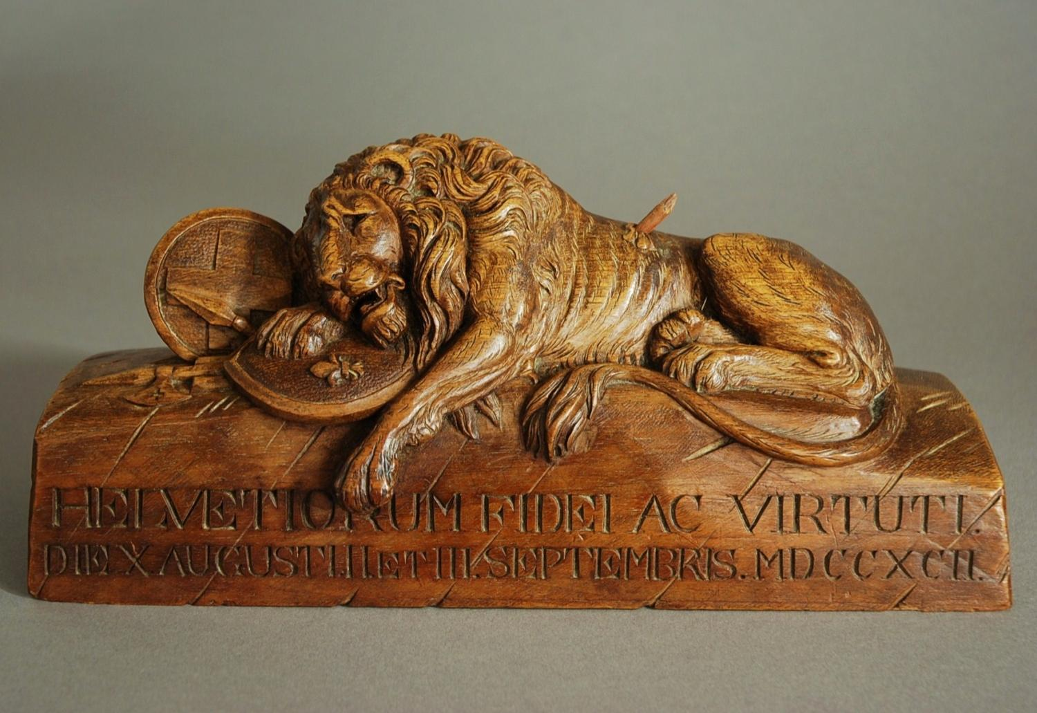 Late 19th century Black Forest wood carving