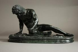 Grand Tour serpentine figure of 'Dying Gaul'