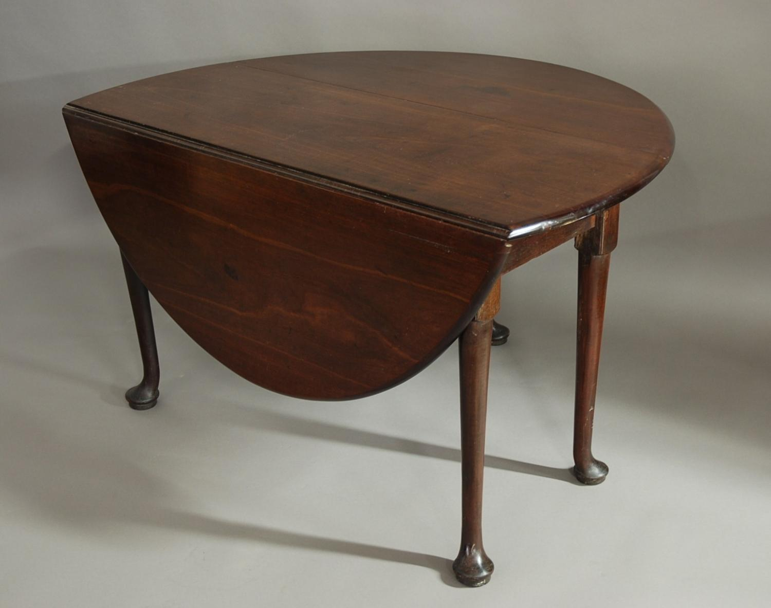 18th century mahogany pad foot table in sold archive for Table th width