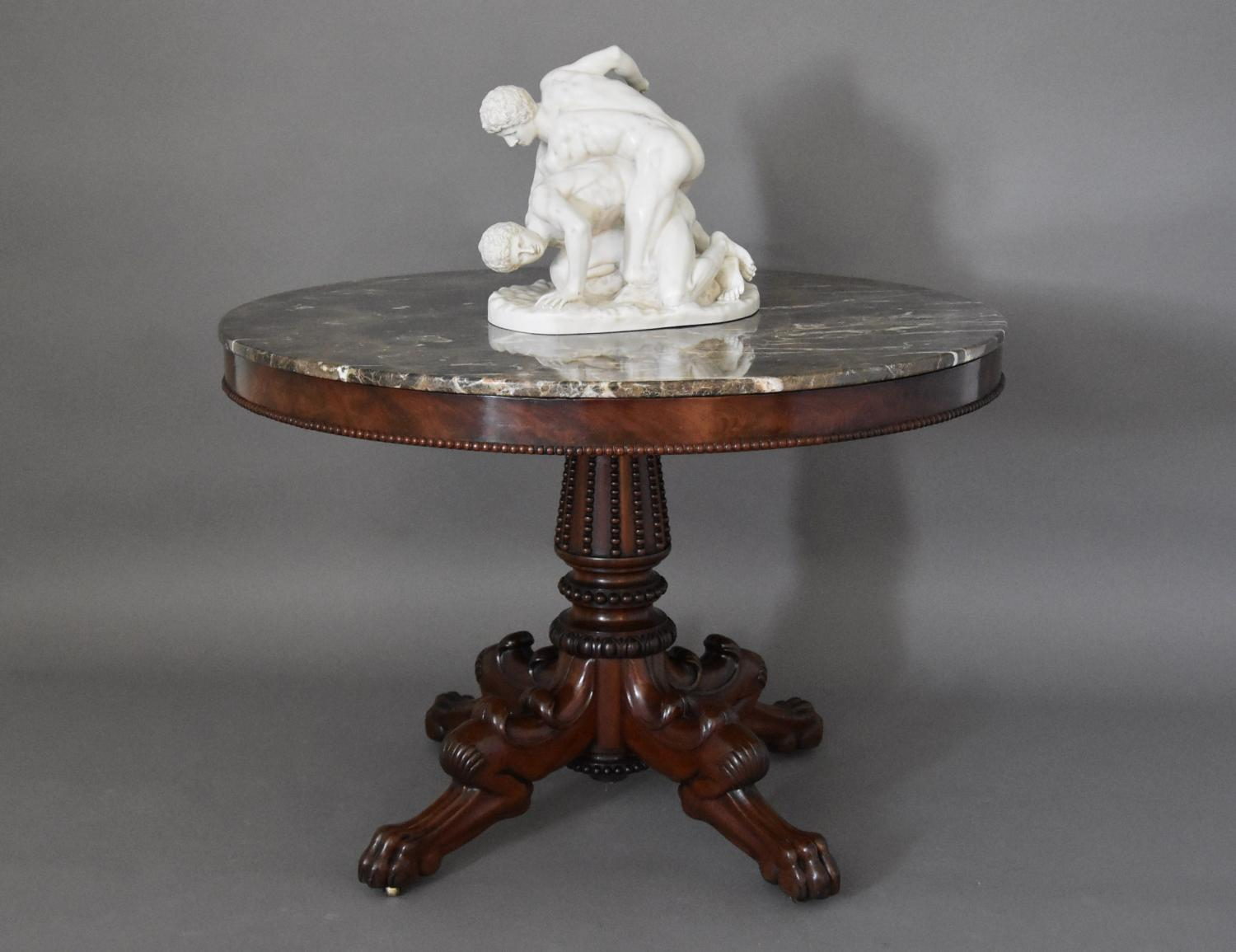 French 19th century mahogany gueridon table
