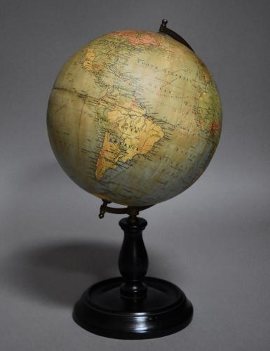 Early 20thc Philips terrestrial table globe