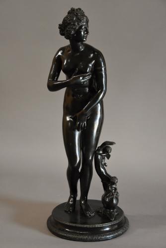 Late 19thc bronze 'Venus de' Medici'